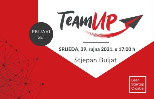 Stjepan Buljat, TeamUp Live 4